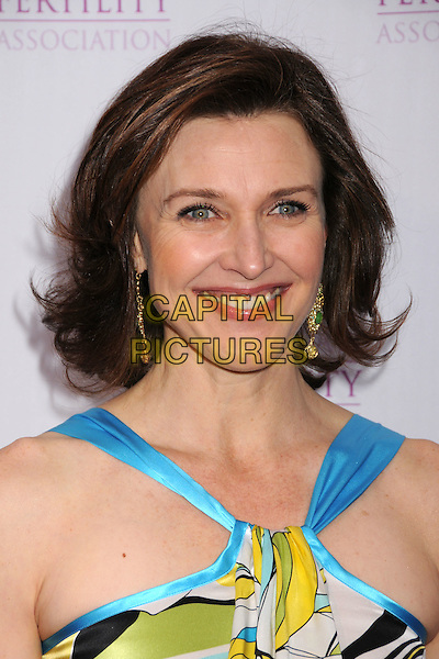 BRENDA STRONG.American Fertility Associations Annual Illuminations Gala at a Private Residence, Los Angeles, California, USA..March 15th, 2008.headshot portrait blue satin silk .CAP/ADM/BP.©Byron Purvis/AdMedia/Capital Pictures.