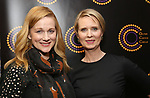 Laura Linney and Cynthia Nixon attends the 67th Annual Outer Critics Circle Theatre Awards at Sardi's on May 25, 2017 in New York City.