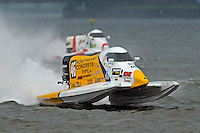 Kris Shepard (#46)  and Greg Foster (#14) (Formula 1/F1/Champ class)