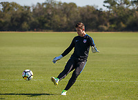 Lakewood Ranch, FL : The US Soccer U-17 MNT trains at the Premiere Sports Complex during the Men's Youth National Team Summit in Lakewood Ranch, Fla., on January 4, 2018. (Photo by Casey Brooke Lawson)