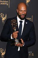 LOS ANGELES - SEP 9:  Common at the 2017 Creative Emmy Awards Press Room at the Microsoft Theater on September 9, 2017 in Los Angeles, CA
