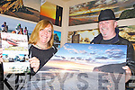 IN THE FRAME: Ballybunion photographers Polly and Tony Hartney who are holding a fundraising raffle for one of their images to support the work of the local Sea Rescue team.