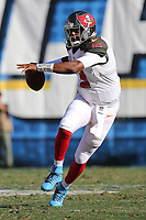 Tampa Bay Buccaneers quarterback Jameis Winston #3, during an NFL game between the Tampa Bay Buccaneers and the San Diego Chargers played at Qualcomm Stadium on December 4, 2016. (Michael Zito/AP for Panini