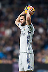 """José Ignacio Fernández Iglesias """"Nacho"""" of Real Madrid in action during the La Liga match between Real Madrid and RC Deportivo La Coruna at the Santiago Bernabeu Stadium on 10 December 2016 in Madrid, Spain. Photo by Diego Gonzalez Souto / Power Sport Images"""