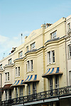 Seaside hotel facades, Eastbourne