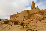 Temple of the Oracle of Amun in Siwa Oasis in western desert