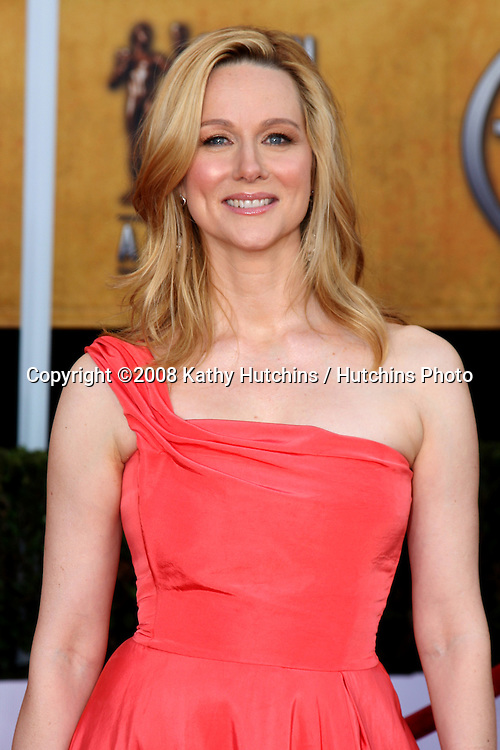 Laura Linney. arriving at the Screen Actors Guild Awards, at the Shrine Auditorium in Los Angeles, CA on .January 25, 2009.©2008 Kathy Hutchins / Hutchins Photo..