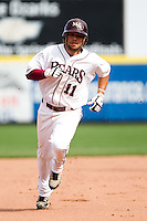 Aaron Conway (11) of the Missouri State Bears during a game vs. the Western Illinois Leathernecks at Hammons Field in Springfield, Missouri;  March 20, 2011.  Photo By David Welker/Four Seam Images