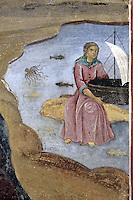 BG41192.JPG BULGARIA, RILA MONASTERY, CHURCH OF NATIVITY, frescoes