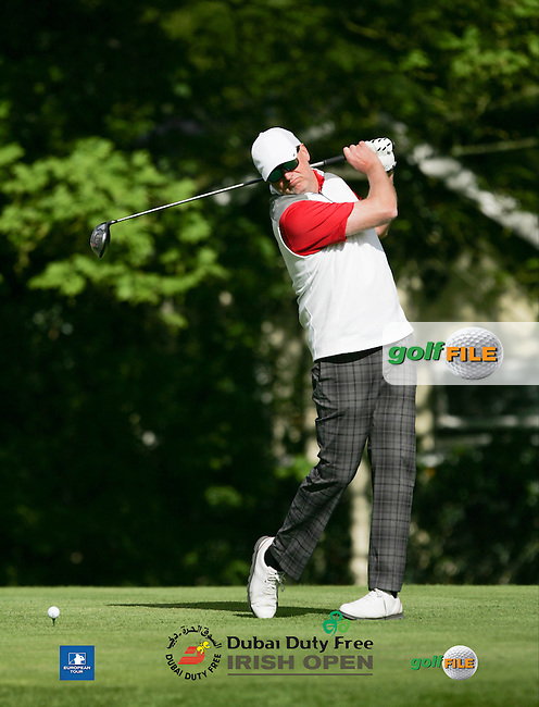 Jan Henriksen during Wednesday's Pro-Am ahead of the 2016 Dubai Duty Free Irish Open Hosted by The Rory Foundation which is played at the K Club Golf Resort, Straffan, Co. Kildare, Ireland. 18/05/2016. Picture Golffile | TJ Caffrey.<br /> <br /> All photo usage must display a mandatory copyright credit as: &copy; Golffile | TJ Caffrey.