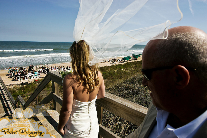 The wedding of Brett Zarda and Ashley Tift on Saturday, March 7, 2009, at the Serenata Club in South Ponte Vedra Beach.  (Chad Pilster, PilsterPhotography.net with Valentine Becker Photographer)
