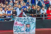 São Paulo (SP) 13/02/2019 - Futebol / Libertadores / São Paulo / Talleres -  Torcida do Talleres durante partida contra o São Paulo em jogo válido pela 2ª rodada de volta da Copa Libertadores da América 2019 no Estádio do Morumbi em São Paulo, nesta quarta-feira, 13. (Foto: Anderson Lira/Brazil Photo Press/Agencia O Globo) Esportes