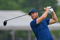 Lucas Bjerregaard (DEN) watches his tee shot on 11 during day 1 of the Valero Texas Open, at the TPC San Antonio Oaks Course, San Antonio, Texas, USA. 4/4/2019.<br /> Picture: Golffile   Ken Murray<br /> <br /> <br /> All photo usage must carry mandatory copyright credit (&copy; Golffile   Ken Murray)