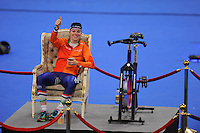 SPEED SKATING: INZELL: 04-12-2015, Max Aicher Arena, ISU World Cup, 3000m Ladies, Marije Joling (NED), hot seat, ©foto Martin de Jong
