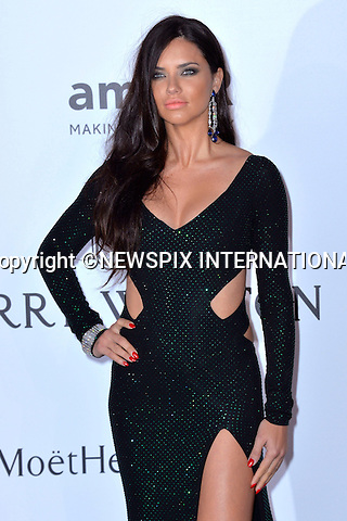 12.05.2015, Antibes; France: ADRIANA LIMA<br />attends the Cinema Against AIDS amfAR gala 2015 held at the Hotel du Cap, Eden Roc in Cap d'Antibes.<br />MANDATORY PHOTO CREDIT: &copy;Thibault Daliphard/NEWSPIX INTERNATIONAL<br /><br />(Failure to credit will incur a surcharge of 100% of reproduction fees)<br /><br />**ALL FEES PAYABLE TO: &quot;NEWSPIX  INTERNATIONAL&quot;**<br /><br />Newspix International, 31 Chinnery Hill, Bishop's Stortford, ENGLAND CM23 3PS<br />Tel:+441279 324672<br />Fax: +441279656877<br />Mobile:  07775681153<br />e-mail: info@newspixinternational.co.uk