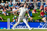 James Anderson of England during Day 2 of the Second International Cricket Test match, New Zealand V England, Hagley Oval, Christchurch, New Zealand, 31th March 2018.Copyright photo: John Davidson / www.photosport.nz