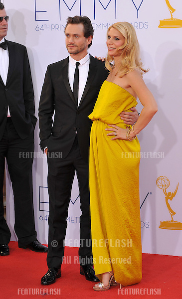 Claire Danes & Hugh Dancy at the 64th Primetime Emmy Awards at the Nokia Theatre LA Live..September 23, 2012  Los Angeles, CA.Picture: Paul Smith / Featureflash