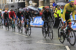 Riders including Simon Geschke (GER) tackle the 9 laps of the Harrogate circuit during the Men Elite Road Race of the UCI World Championships 2019 running 261km from Leeds to Harrogate, England. 29th September 2019.<br /> Picture: Eoin Clarke | Cyclefile<br /> <br /> All photos usage must carry mandatory copyright credit (© Cyclefile | Eoin Clarke)