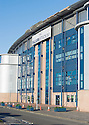 THE STORM DAMAGE  TO THE ROOF OF THE FALKIRK STADIUM THAT IS PUTTING SATURDAY'S SCOTTISH CUP GAME AGAINST EAST FIFE IN DOUBT. AS A RESULT OF THE DAMAGE TO THE ROOF THE FRONT OF THE STADIUM HAS BEEN CORDONED OFF FOR SAFETY REASONS. THE CLUB WILL HAVE A SAFETY INSPECTION ON FRIDAY TO DETERMINE IF THE GAME WILL GO AHEAD.