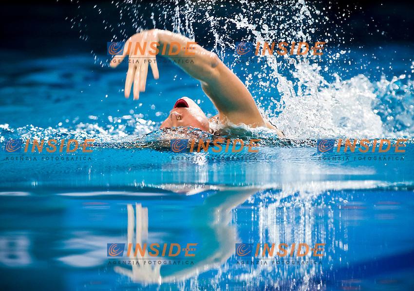 Kalina Yordanova (BUL)..European Synchronised Swimming Championships Eindhoven 2012..Solo Free Routine - Finals ..Eindhoven (Netherlands), 26/05/2012, Pieter Van Den Hoogenband Swimming Stadium..ph. Giorgio Perottino / Deepbluemedia