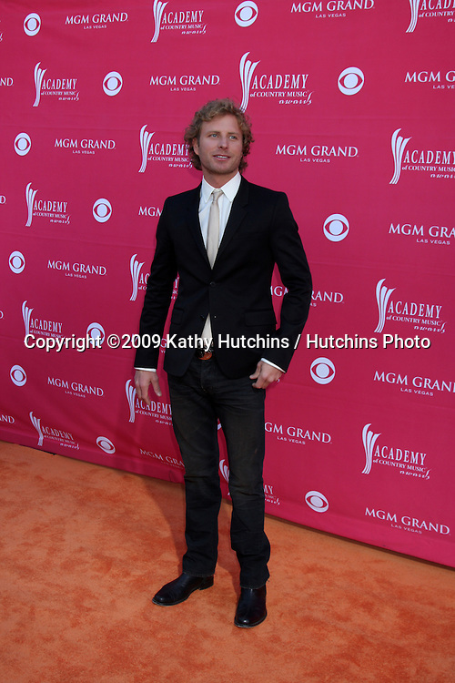 Dierks Bentley  arriving at the 44th Academy of Country Music Awards at the MGM Grand Arena in  Las Vegas, NV on April 5, 2009.©2009 Kathy Hutchins / Hutchins Photo....                .