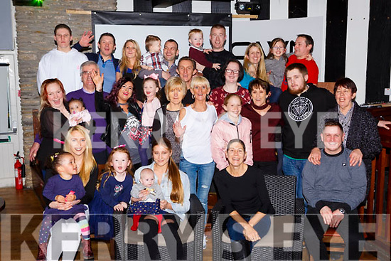 The Leen family from Killarney who welcomed home relations from Australia for a family reunion in the K Town bar Killarney on Saturday