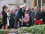 "BARRY GIBB ROBIN'S BROTHER PLACES A ROSE ON HIS GRAVE.ROBIN GIBB FUNERAL.Robin who died after a lon-running battle with cancer aged 62, was buried at St. mary's Church , Thame, Oxfordshire..Brother Barry Gibb,65, the last surviving member of the Bee Gees was joined by family members for the funeral service..Celebrity guests who attended the funeral included Peter Andre, Tim Rice, Susan George and Leslie Phillips_08/06/2012.Mandatory Credit Photo: ©NEWSPIX INTERNATIONAL..**ALL FEES PAYABLE TO: ""NEWSPIX INTERNATIONAL""**..IMMEDIATE CONFIRMATION OF USAGE REQUIRED:.Newspix International, 31 Chinnery Hill, Bishop's Stortford, ENGLAND CM23 3PS.Tel:+441279 324672  ; Fax: +441279656877.Mobile:  07775681153.e-mail: info@newspixinternational.co.uk"
