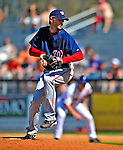 7 March 2009: Washington Nationals' pitcher Josh Towers on the mound during a Spring Training game against the New York Mets at Tradition Field in Port St. Lucie, Florida. The Nationals defeated the Mets 7-5 in the Grapefruit League matchup. Mandatory Photo Credit: Ed Wolfstein Photo