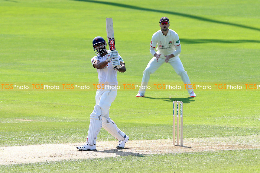 Varun Chopra hits 4 runs for Essex during Essex CCC vs Lancashire CCC, Specsavers County Championship Division 1 Cricket at The Cloudfm County Ground on 21st April 2018