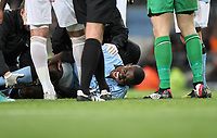 Barclays Premier League, Man City (blue) V Swansea City (white) Etihad Stadium, 27/10812<br />