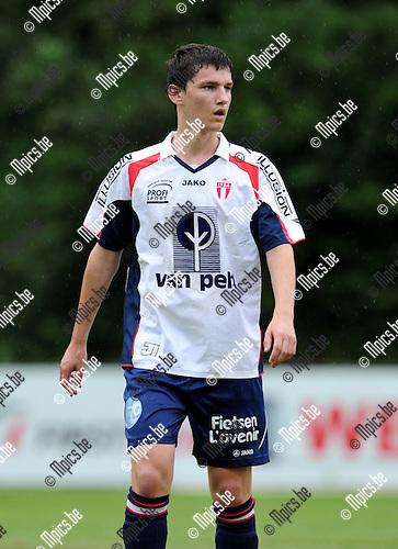 2012-08-01 / Voetbal / seizoen 2012-2013 / TSV Lyra / Lenny Van den Broek..Foto: Mpics.be