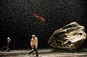 London, UK. 21.02.2013. Tanztheater Wuppertal Pina Bausch present VOLLMOND (Full Moon) at Sadler's Wells. the company comprises: Pablo Aran Gimeno, Rainer Behr, Silvia Farias Heredia, Ditta Miranda Jasfi, Dominique Mercy, Nazareth Panadero, Helena Pikon, Jorge Puerta Armenta, Azusa Seyama, Julie Anne Stanzak, Michael Strecker, Fernando Suels Mendoza. Photo credit: Jane Hobson.