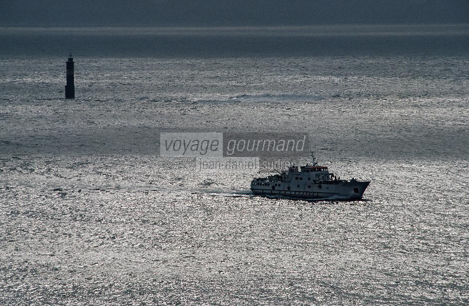 Europe/France/Bretagne/29/Finistère/Ile d'Ouessant: l'Enez Eussa au large d'Ouessant