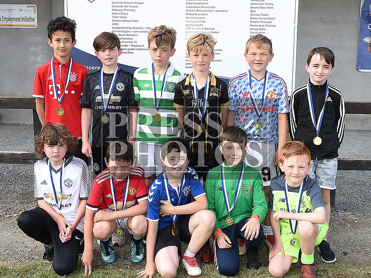 Ardee Celtic U-10 Green at the club's Annual award presentations. Photo:Colin Bell/pressphotos.ie