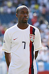 USA's DaMarcus Beasley on Saturday, June 16th, 2007 at Gillette Stadium in Foxboro, Massachusetts. The United States Men's National Team defeated Panama 2-1 in a 2007 CONCACAF Gold Cup quarterfinal game.
