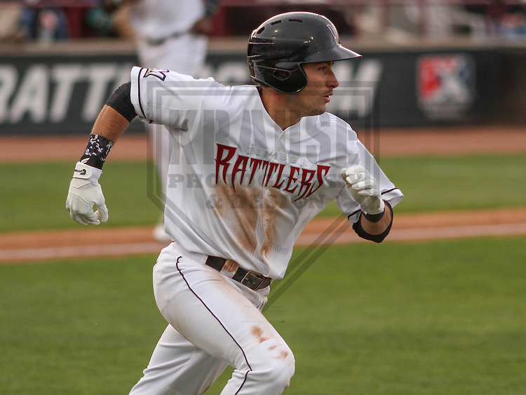 Wisconsin Timber Rattlers catcher Carlos Leal (11) during a game against the Cedar Rapids Kernels on May 4th, 2015 at Fox Cities Stadium in Appleton, Wisconsin.  Cedar Rapids defeated Wisconsin 9-3.  (Brad Krause/Krause Sports Photography)