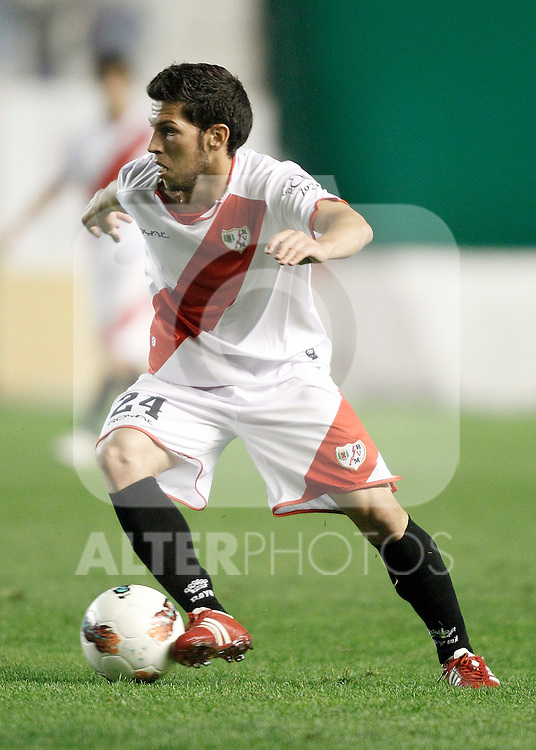 Rayo Vallecano's Daniel Pacheco during La Liga Match. October 26, 2011. (ALTERPHOTOS/Alvaro Hernandez)