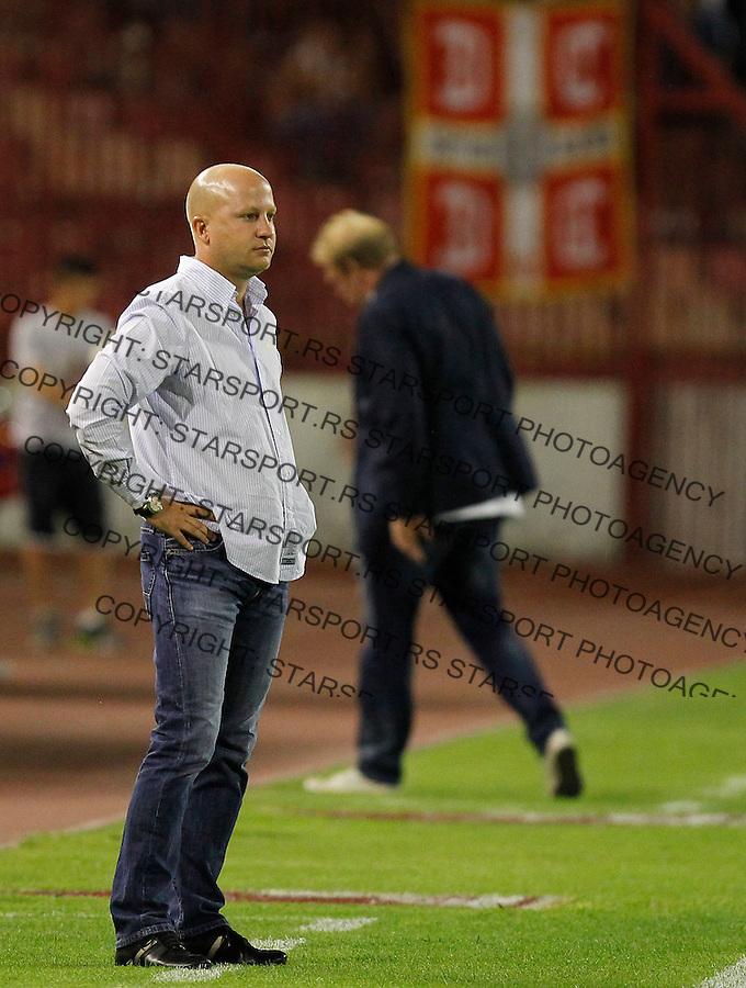Fudbal Super liga season 2012-2013.Crvena Zvezda Vs. Rad.Head coach Marko Nikolic.Beograd, 19.08.2012..foto: Srdjan Stevanovic/Starsportphoto ©