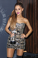 INGLEWOOD, CA, USA - AUGUST 24: Singer Ariana Grande, winner of Best Pop Video for 'Problem,' poses in the press room at the 2014 MTV Video Music Awards held at The Forum on August 24, 2014 in the Inglewood, California, United States. (Photo by Xavier Collin/Celebrity Monitor)