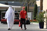 28th November 2019; Yas Marina Circuit, Abu Dhabi, United Arab Emirates; Formula 1 Abu Dhabi Grand Prix, arrivals day; Mick Schumacher - Editorial Use