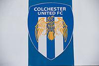The U's Emblem during Colchester United vs Stevenage, Sky Bet EFL League 2 Football at the JobServe Community Stadium on 5th October 2019