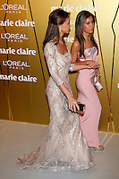 Isabel Preysler and Ana Boyer Attend Marie Claire Prix de la Moda awards 2012 at French Embassy in Madrid. November 22, 2012. (ALTERPHOTOS/Caro Marin) /NortePhoto