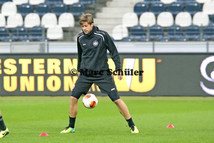 Marco Russ (Eintracht) - Eintracht Frankfurt Europa League Abschlusstraining