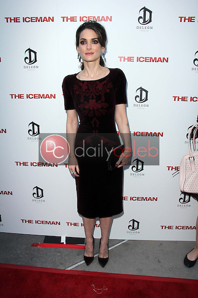 """Winona Ryder<br /> at """"The Iceman"""" Red Carpet, Arclight Theater, Hollywood, CA 04-22-13<br /> David Edwards/DailyCeleb.Com 818-249-4998"""