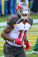 Tampa Bay Buccaneers wide receiver DeSean Jackson (11) during a National Football League game against the Green Bay Packers on December 2nd, 2017 at Lambeau Field in Green Bay, Wisconsin. Green Bay defeated Tampa Bay 26-20. (Brad Krause/Krause Sports Photography)