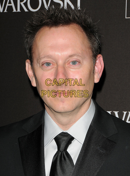 MICHAEL EMERSON.The 12th Annual Costume Designers Guild Awards held at The Beverly Hilton Hotel in Beverly Hills, California, USA. .February 25th, 2010 .headshot portrait black white .CAP/RKE/DVS.©DVS/RockinExposures/Capital Pictures.