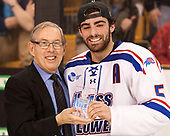 Steve Nazro, Joe Gambardella (UML - 5) The University of Massachusetts-Lowell River Hawks defeated the Boston College Eagles 4-3 to win the 2017 Hockey East tournament at TD Garden on Saturday, March 18, 2017, in Boston, Massachusetts.