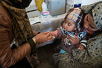 The Hamoon clinic in Farah province Afghanistan. 18-1-14 The Hamoon clinic in Farah province Afghanistan was founded by MP and activist Malalai Joya in 2003. It provides healthcare to women and children from some of the poorest communities in the country. It is funded by donations from abroad and run by the Organisation for Promoting Afghan Womens Capabilities (OPAWC). A baby is vaccinated.