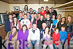 BIRTHDAY; Colm O'Connell (seated centre) who celebrated his 21st with his family and friends at his home in Turbid, Ardfert on Saturday night.