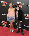 Rowan Blanchard and Mason Cook at The Weinstein Company World Premiere of Spy Kids: All the Time in the World in 4 held at The Regal Cinames,L.A. Live in Los Angeles, California on July 31,2011                                                                               © 2011 Hollywood Press Agency